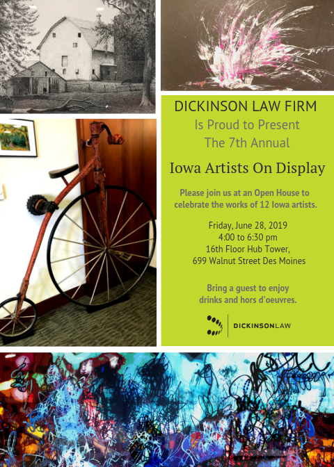 7th Annual Artists on Display flier