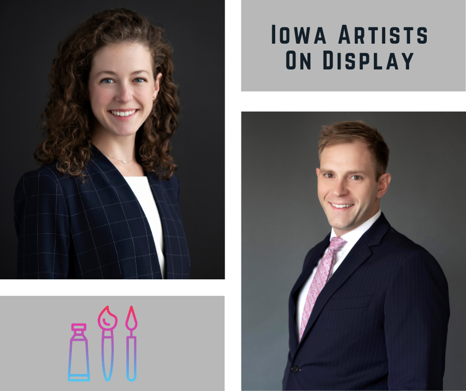 Just Launched: Iowa Artists on Display Podcast