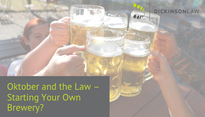 Oktober and the Law – Starting Your Own Brewery?