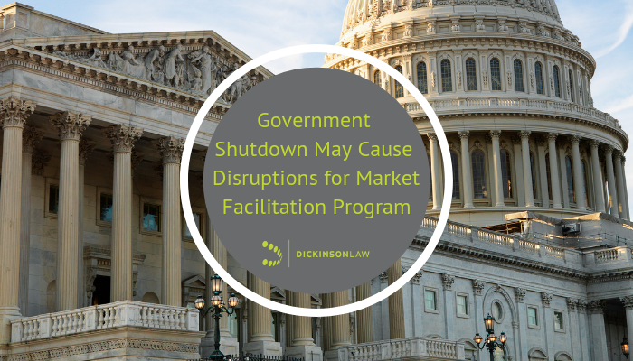 Government Shutdown May Cause Disruption for Market Facilitation Program