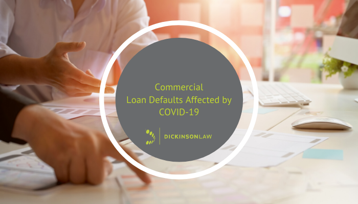 Commercial Loan Defaults Affected by COVID-19
