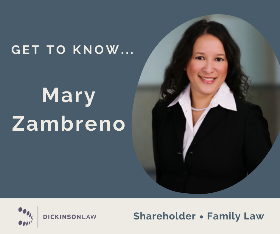 Family Law Feature: Get to Know... Mary Zambreno