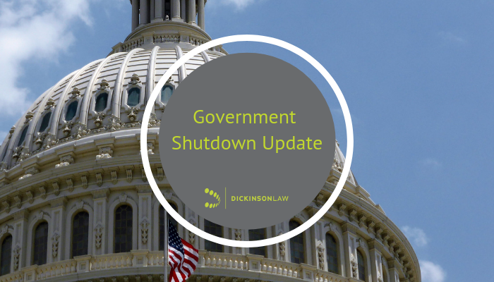 Government Shutdown Update