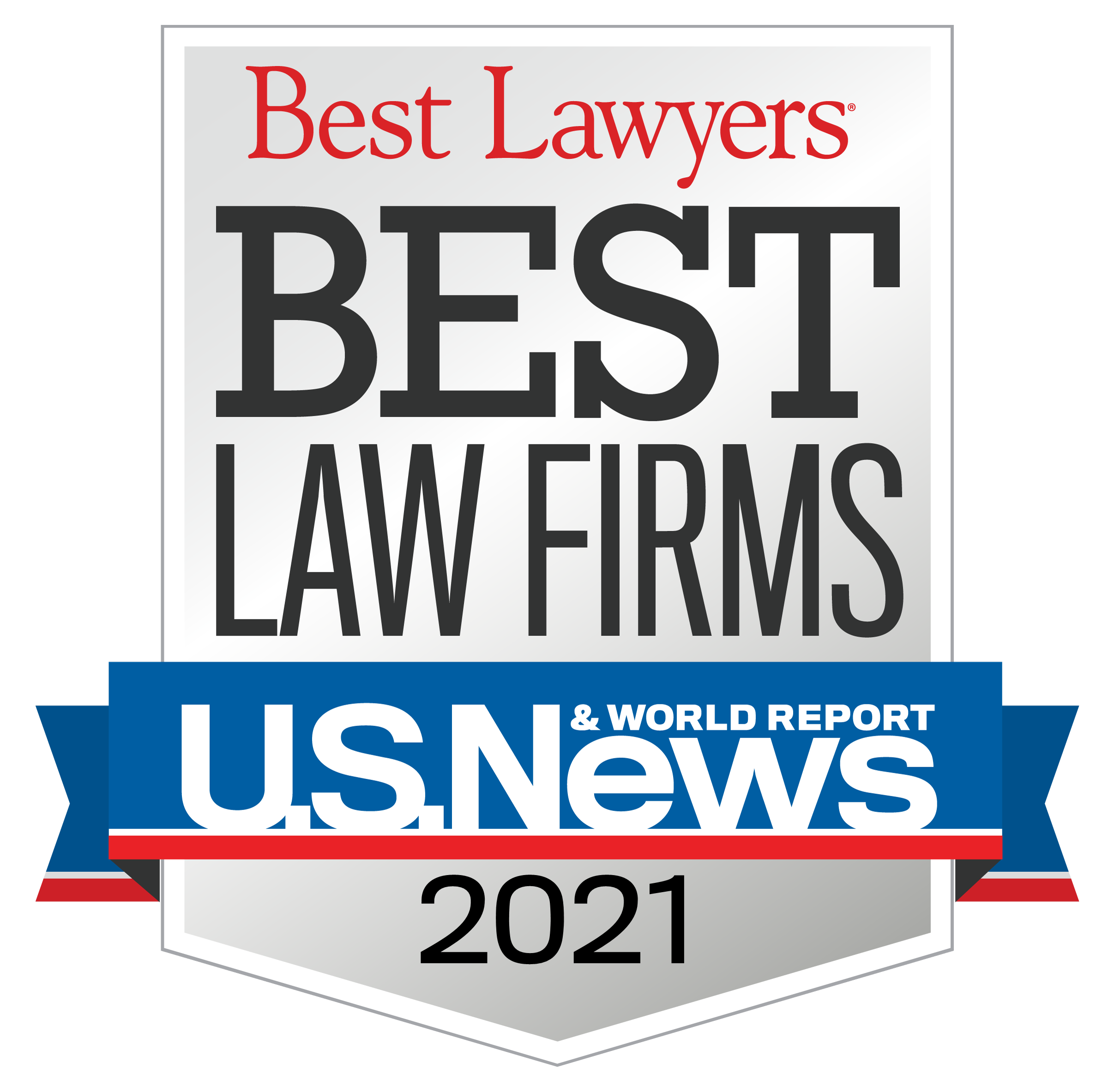 "Dickinson Law recognized as one of 2021 ""Best Law Firms"""