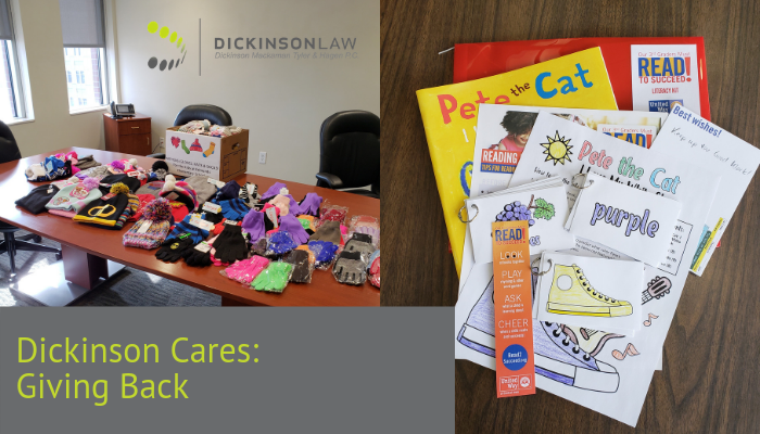 Dickinson Cares--Giving Back