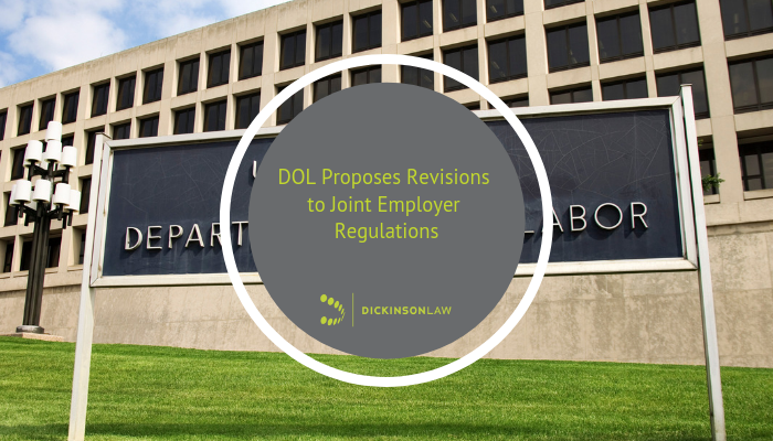 DOL Proposes Revisions to Joint Employer Regulations