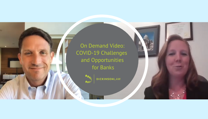 On Demand Video: COVID-19 Challenges and Opportunities for Banks