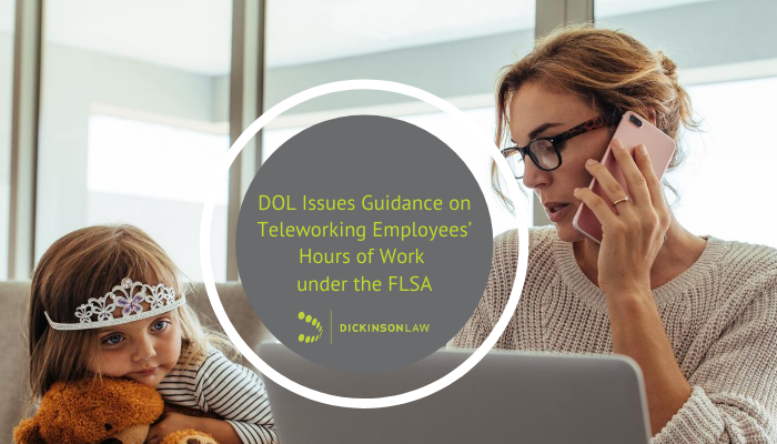 DOL Issues Guidance on Teleworking Employees' Hours of Work under the FLSA