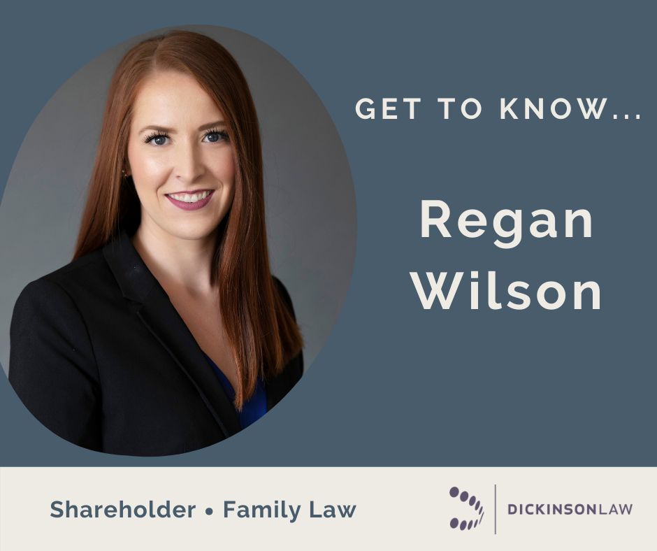 Family Law Feature: Get to Know... Regan Wilson