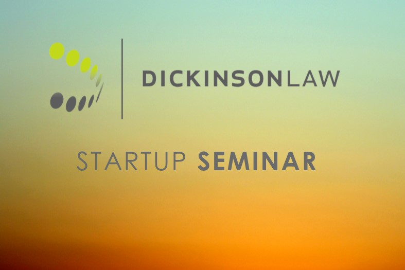 Dickinson Law to Host Startup Seminar & Happy Hour
