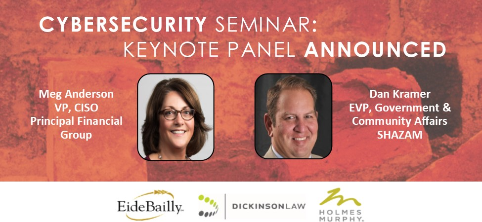 Cybersecurity Seminar: Keynote Panel Announced