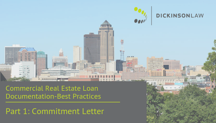 Best Practices in Commercial Real Estate: Commitment Letter