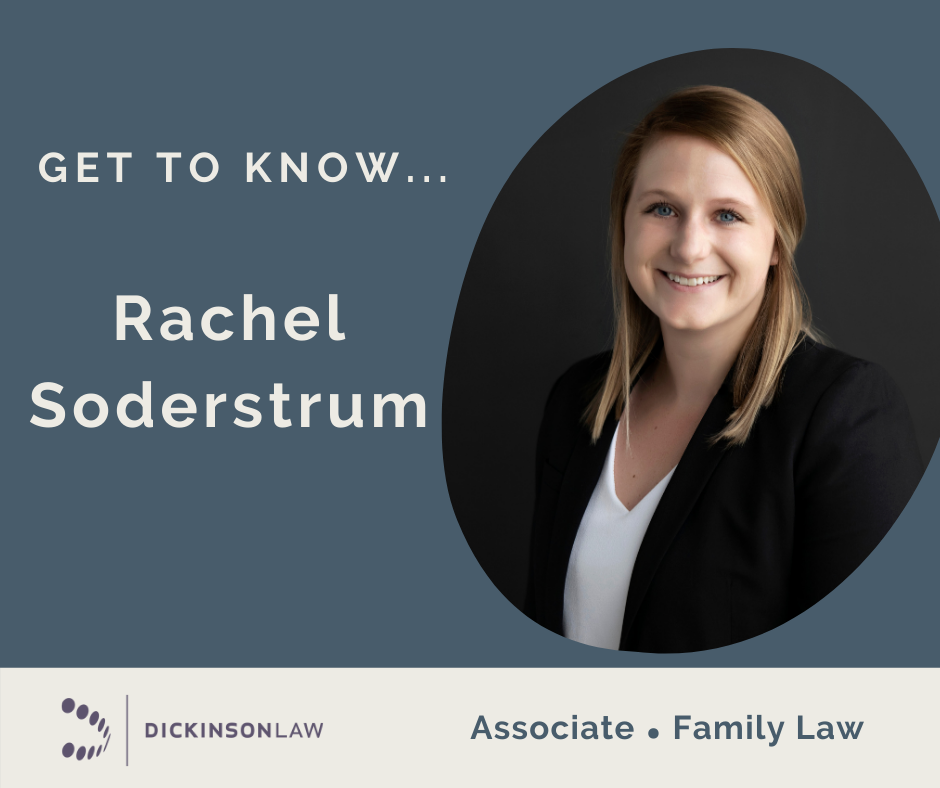 Family Law Feature: Get to Know… Rachel Soderstrum