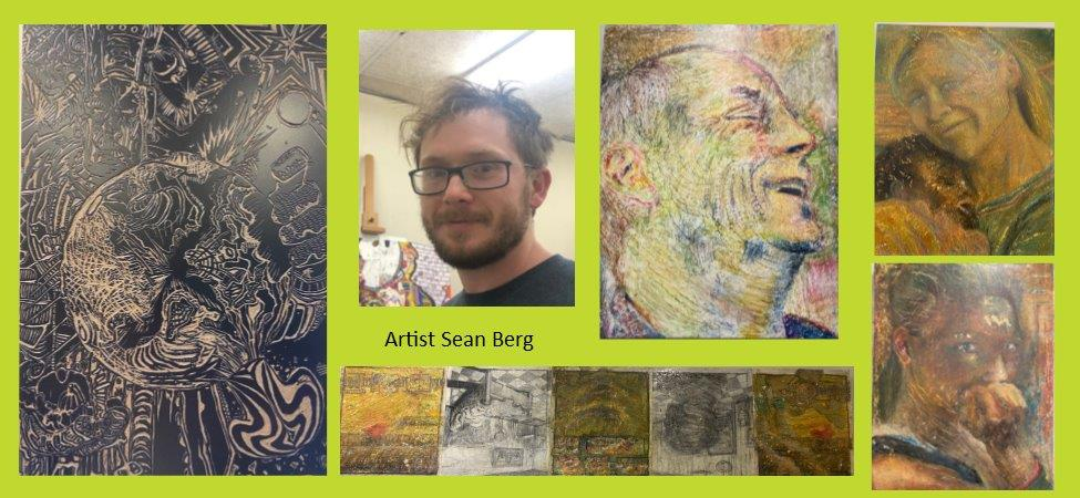 Dickinson Artists on Display Spotlight — Sean Berg: Experiences & Perspectives