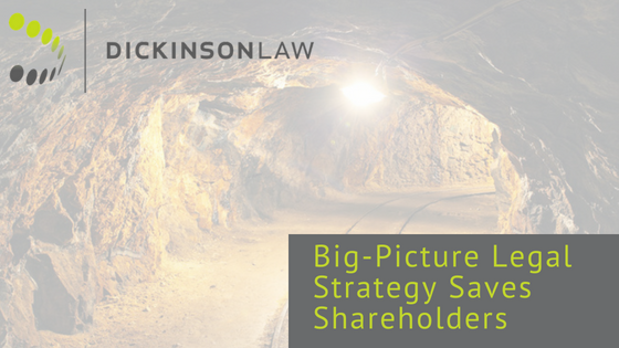 Big-Picture Legal Strategy Saves Shareholders