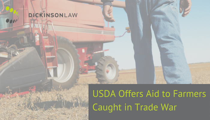 USDA Protection Farmer Trump Trade War Tariff