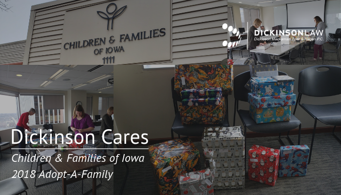Dickinson Cares-- 2018 Adopt-A-Family
