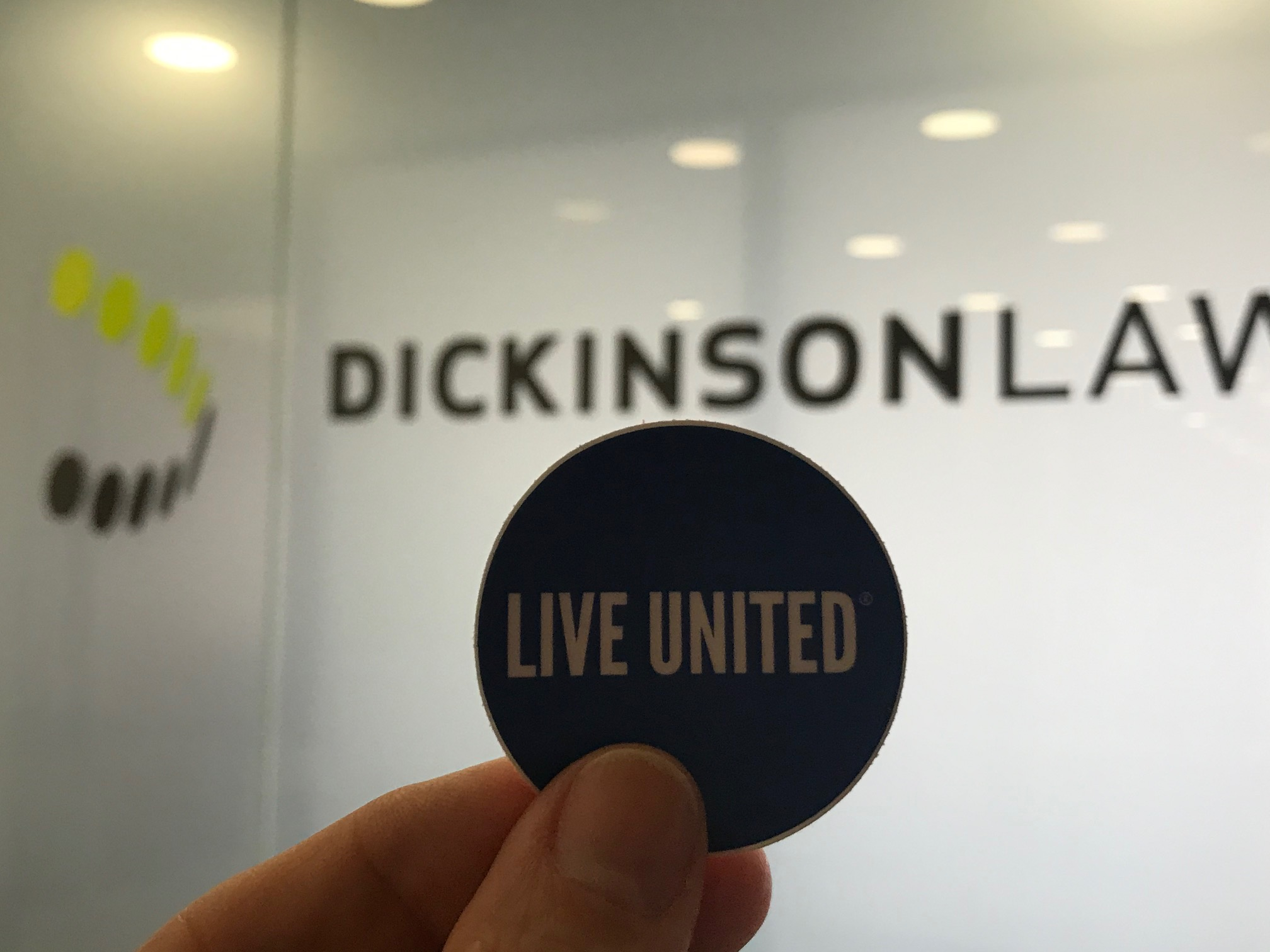 It's United Way Campaign Week at Dickinson Law