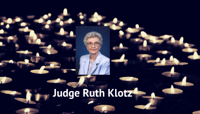 In Remembrance: Judge Ruth Klotz, former Dickinson Attorney