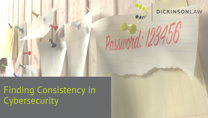 Finding Consistency in Cybersecurity