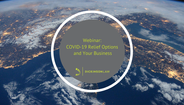 Webinar: COVID-19 Relief Options and Your Business
