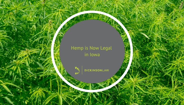 Hemp is Now Legal in Iowa