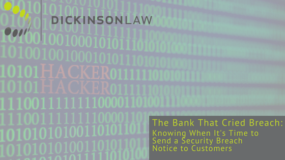 Iowa Banking Law Blog, Iowa Cybersecurity Law Blog, Jesse Johnston, Des Moines Iowa, Dickinson Law Firm