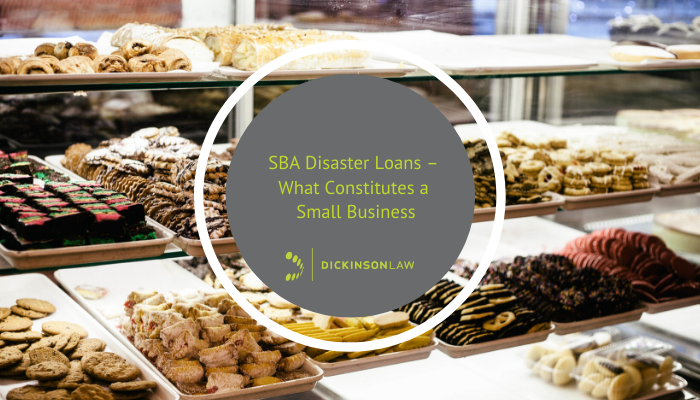 SBA Disaster Loans – What Constitutes a Small Business