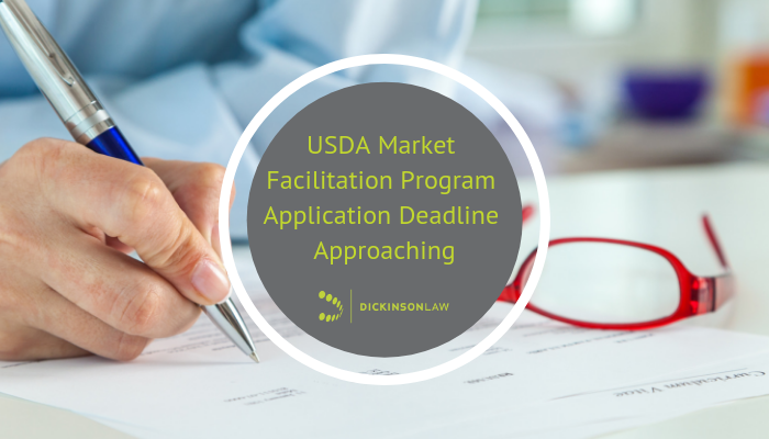 USDA Market Facilitation Program Application Deadline Approaching