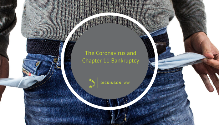 The Coronavirus and Chapter 11 Bankruptcy