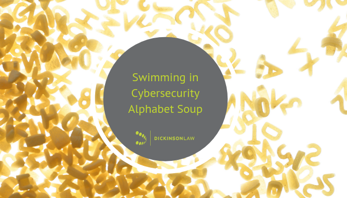 Swimming in Cybersecurity Alphabet Soup