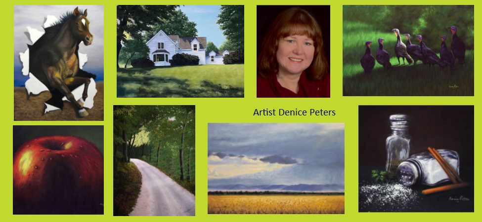 Dickinson Artists on Display Spotlight – Denice Peters: Interpretation of Light and Color