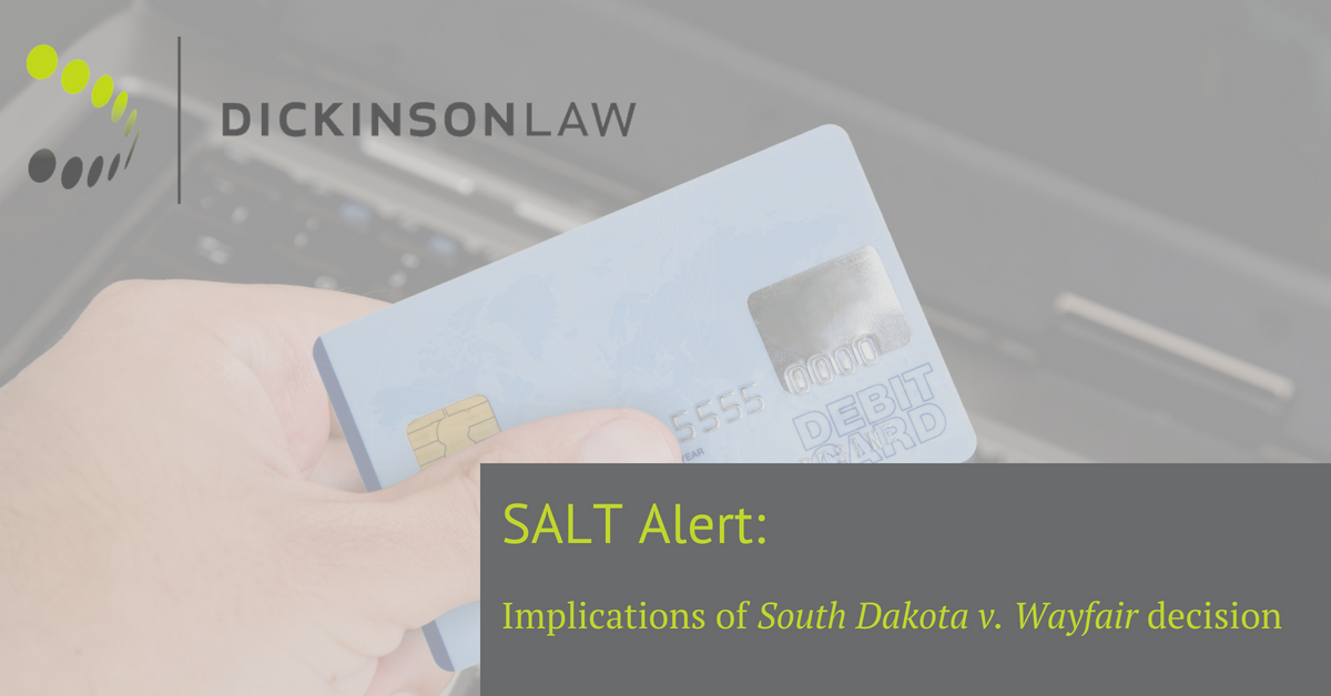 Cody Edwards, Iowa Taxation Law, Des Moines Iowa, Dickinson Law Firm, Iowa Table SALT Law